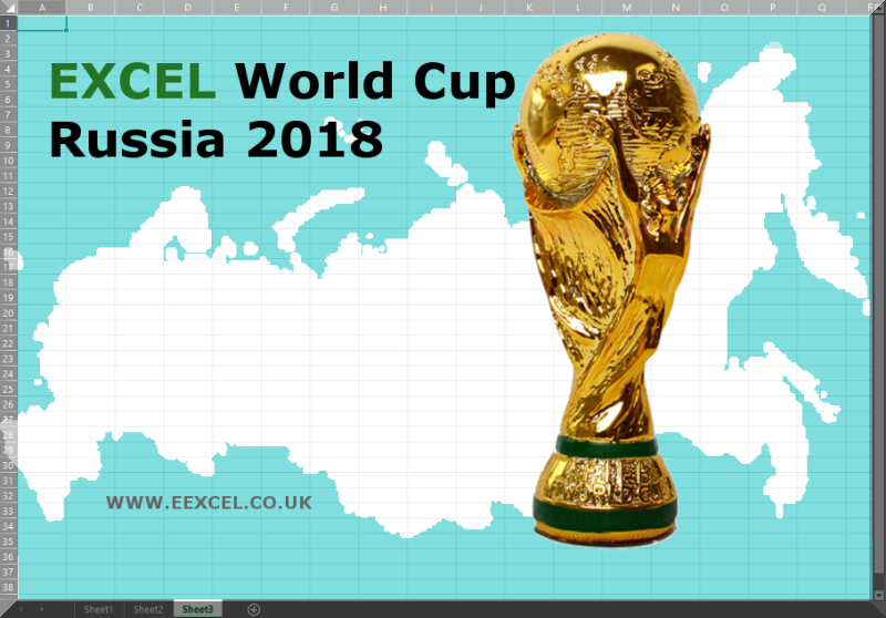 Excel World Cup Russia 2018 Sweepstake